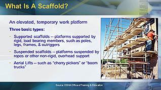 OSHA Construction: Scaffolding Safety | Free Training Power